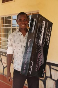 andrew with keyboard