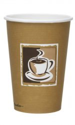10oz Caffe Coffee Cup